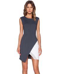 Bailey 44 Gray Thelma Dress - Lyst