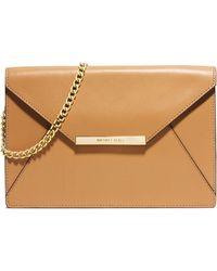 MICHAEL Michael Kors Lana Envelope Clutch Bag - Lyst