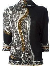 Etro Paisley Pattern Sweater - Lyst