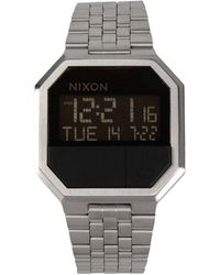 Nixon Silver Wrist Watch - Lyst