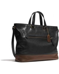 Coach Bleecker Urban Commuter in Colorblock Leather - Lyst