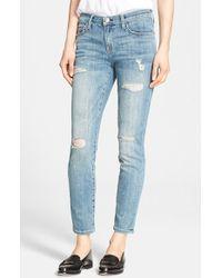 Current/Elliott 'The Stiletto' Stretch Jeans - Lyst