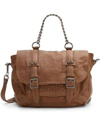 Ash - Britt Convertible Leather Backpack - Lyst