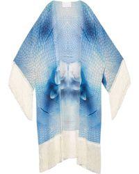 Athena Procopiou - Angel Silk Kimono Cover-up - Lyst
