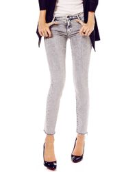 Mother The Looker Frayed Jean - Lyst
