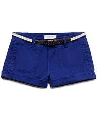 Forever 21 Crisp Cuffed Shorts - Lyst