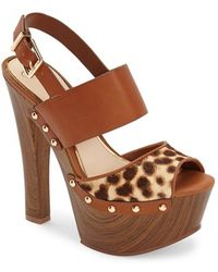 Jessica Simpson 'Dallis' Platform Sandal - Lyst