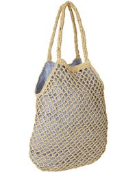Hat Attack - Blue Fishnet Bag - Lyst
