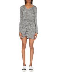 The Kooples Sport - Draped Jersey Dress - Lyst