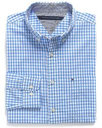 Tommy Hilfiger Classic Fit Gingham Shirt - Lyst