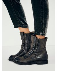 Free People Gray Jaq Boot - Lyst