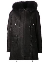 Yigal Azrouël Long Hooded Jacket