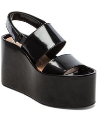 Jeffrey Campbell Carnie Wedge Sandal - Lyst