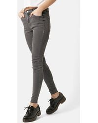 Topshop Moto 'Leigh' Ankle Skinny Jeans - Lyst