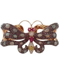 Wendy Yue - Sapphire Butterfly Cuff - Lyst
