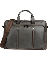 Giorgio Fedon - Leather and Shell Work Bag - Lyst
