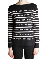Marc Jacobs | Black Sweater | Lyst