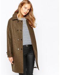 Sessun - Cosmo Coat In Khaki - Lyst