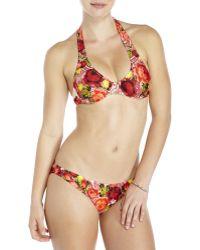 Jean Paul Gaultier - Floral Printed Bikini - Lyst