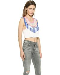 6 Shore Road By Pooja - Am To Pm Crop Top - Moonlight - Lyst