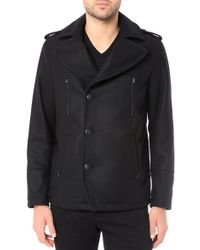 AG Adriano Goldschmied The Melton Peacoat - Lyst