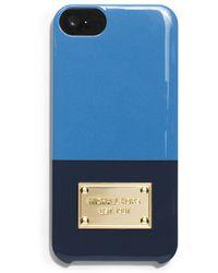 MICHAEL Michael Kors Iphone 5/5S Case - Bi-Color Cover - Lyst