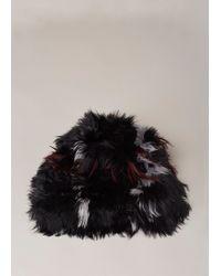 Marni - Black Alpaca Fur Hat - Lyst