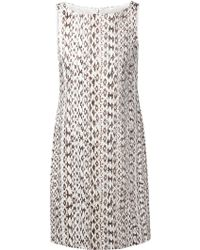 Max Mara Python Effect Print Dress - Lyst
