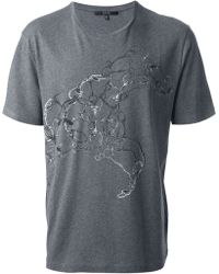 Gucci Horse Print T-shirt - Lyst