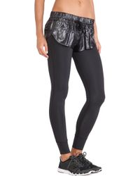 Adidas By Stella Mccartney Black Essentials Pants - Lyst