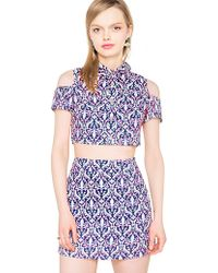Pixie Market Wallflower Skirt Match Set - Lyst