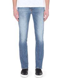 Nudie Jeans Thin Finn Tender Blues Denim Jeans - For Men - Lyst