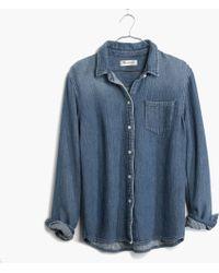 Madewell Denim Homestead Shirt - Lyst