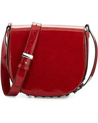 Alexander Wang Lia Lacquered Leather Shoulder Bag - Lyst