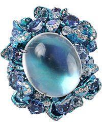 Arunashi - Moonstone Ring - Lyst