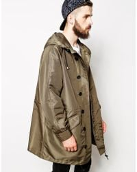 Asos Parka in Oversized Fit - Lyst