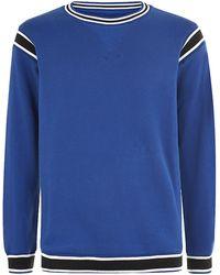 Diesel S-Roku Sweater blue - Lyst