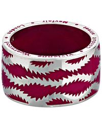Vivienne Westwood Squiggle Band Ring - Lyst