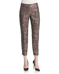 Dolce & Gabbana Brocade Embroidered Pants - Lyst