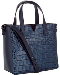 Vince - Signature Croc Front Baby Tote - Lyst