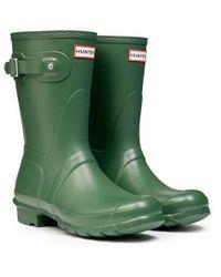 Hunter Original Short Rain Boots - Lyst