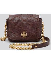 Tory Burch Mini Bag  Lysa Stitched Chain - Lyst