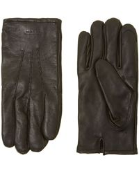 GANT - Touch Screen Leather Glove - Lyst