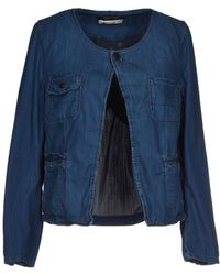 Maison Scotch Denim Outerwear - Lyst