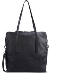 Rick Owens Large Leather Bag - Lyst
