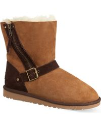 Ugg Blaise Twotone Boots Brown - Lyst