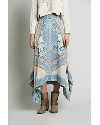 Free People Womens Traveler Print Maxi - Lyst
