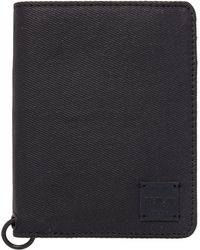 Replay - Denim Leather Wallet - Lyst