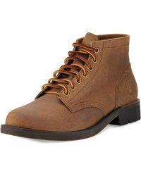Eastland 1955 Edition - Jackson 1955 Distressed Suede Boot - Lyst