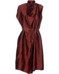 Lanvin Knee-Length Dress - Lyst